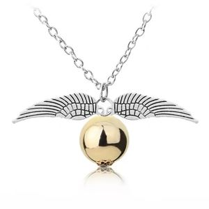 Harry Potter Golden Snitch Necklace, Silvertone